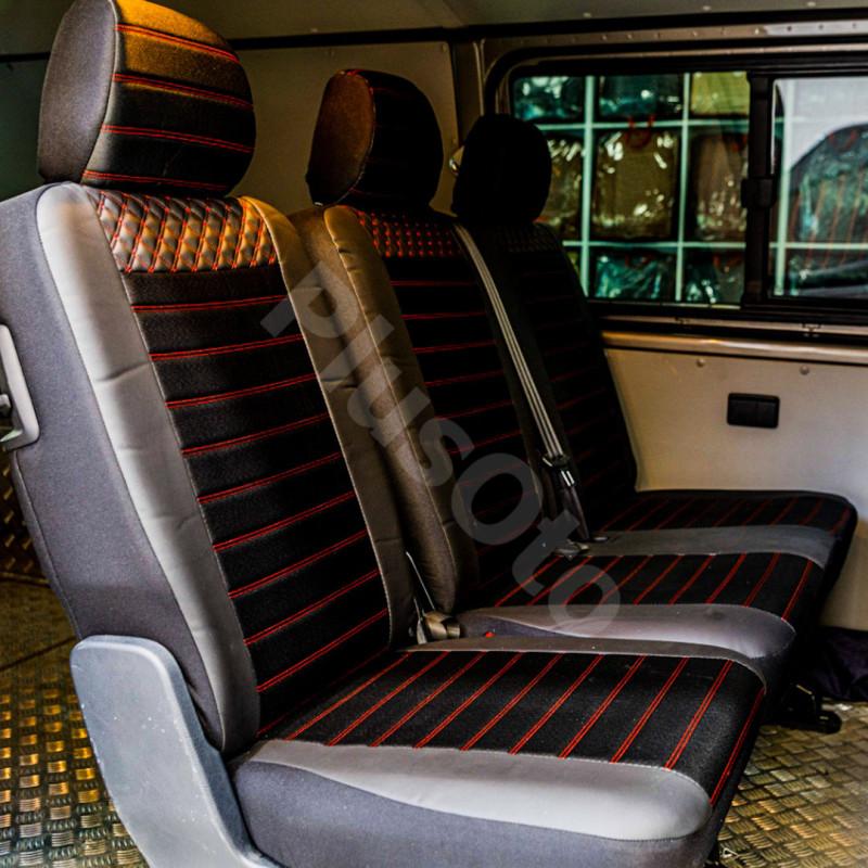 Transporter Plus Lüks Deri Oto Koltuk Kılıfı